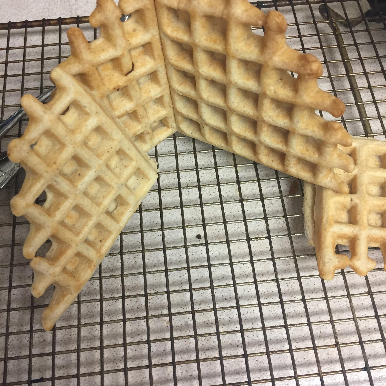 Whole Wheat Coconut Oil Waffles kdub
