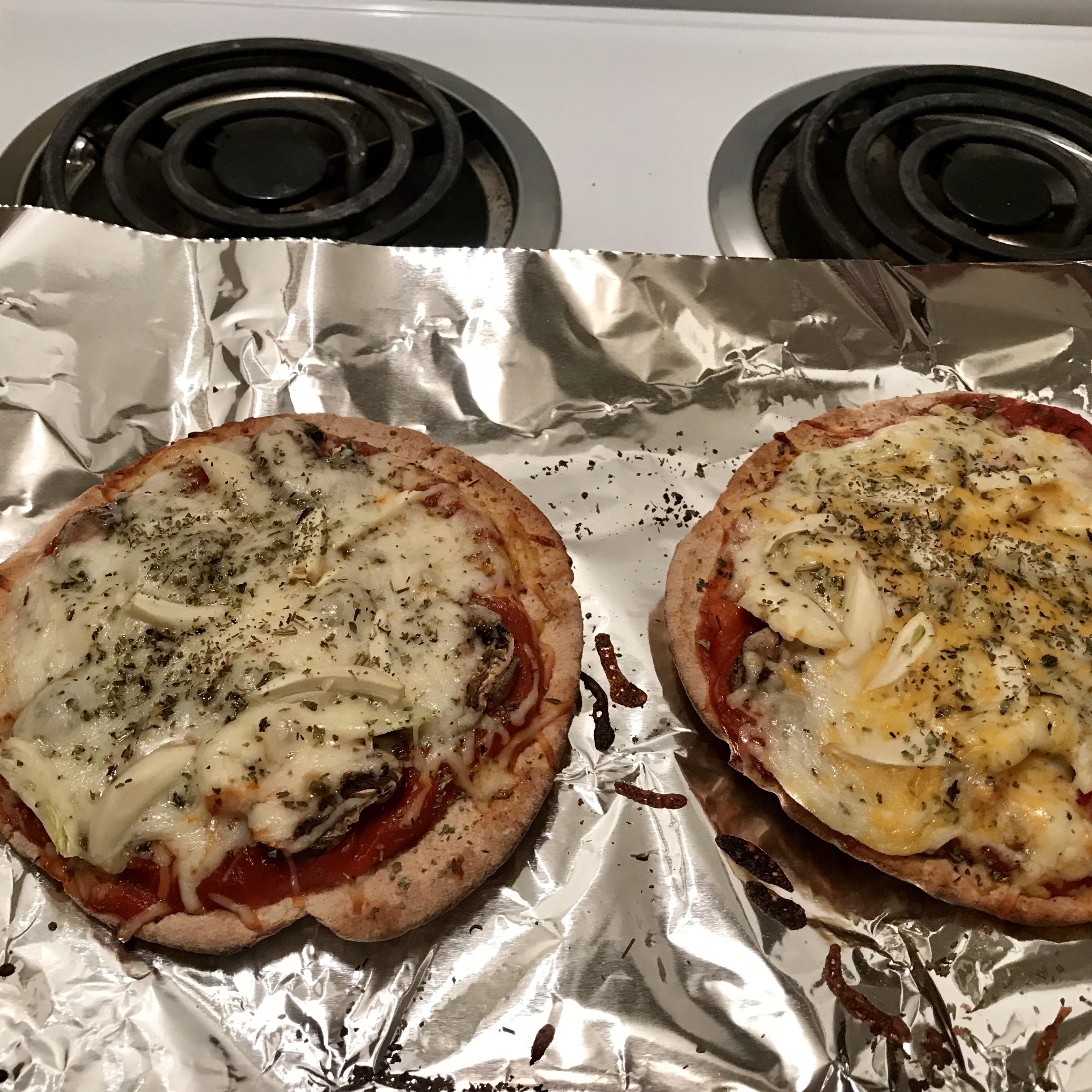 Veggie Pita Pizza anghatami