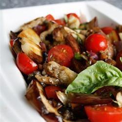 Eggplant Tomato Salad ImanG