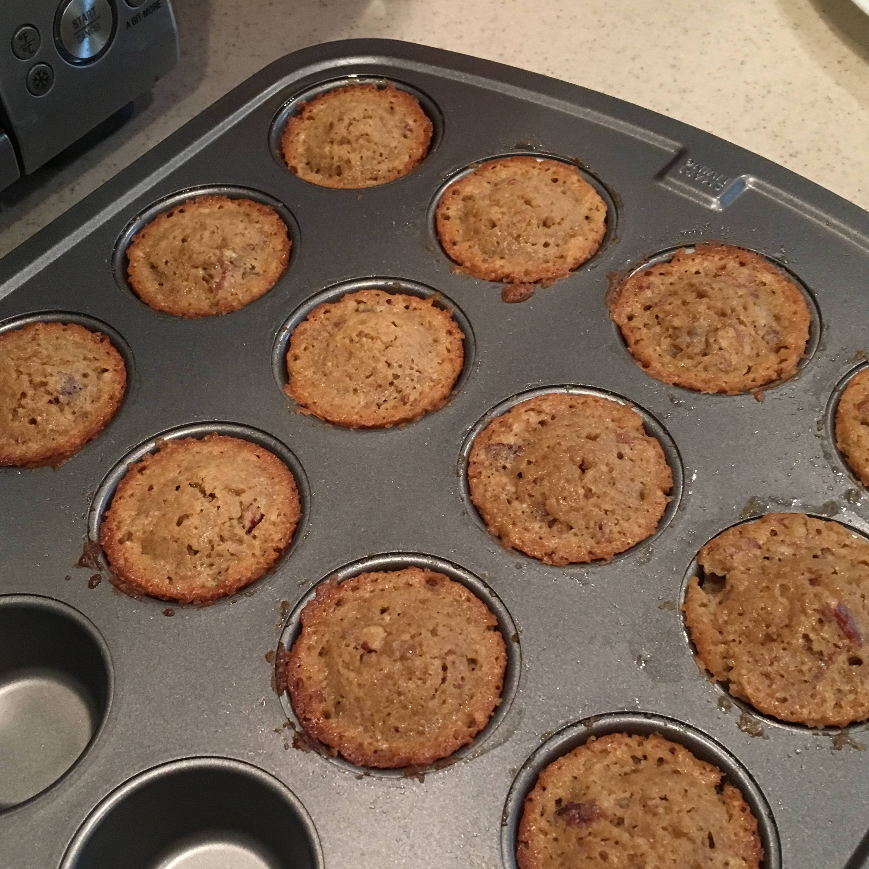Mini Pecan Pie Muffins Bean