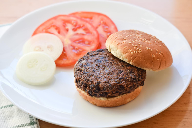 Vegan Black Bean Burgers jeshaka