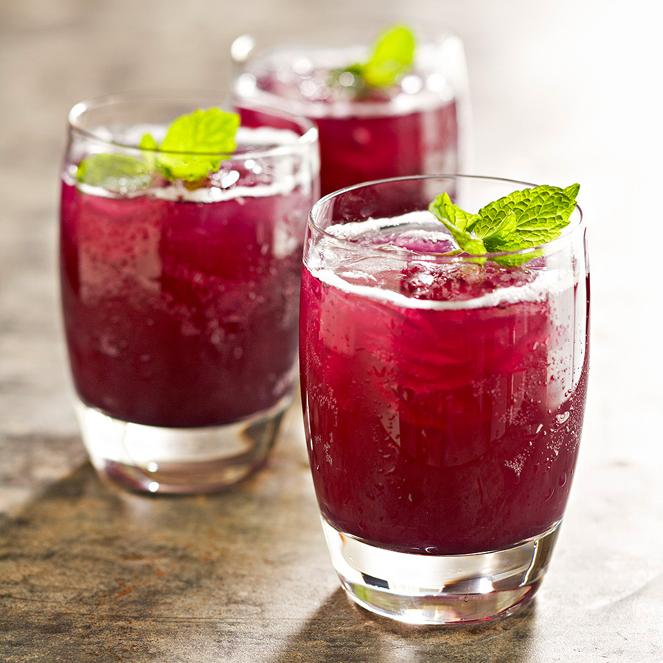 Grape-Pineapple Mint Fizz Diabetic Living Magazine