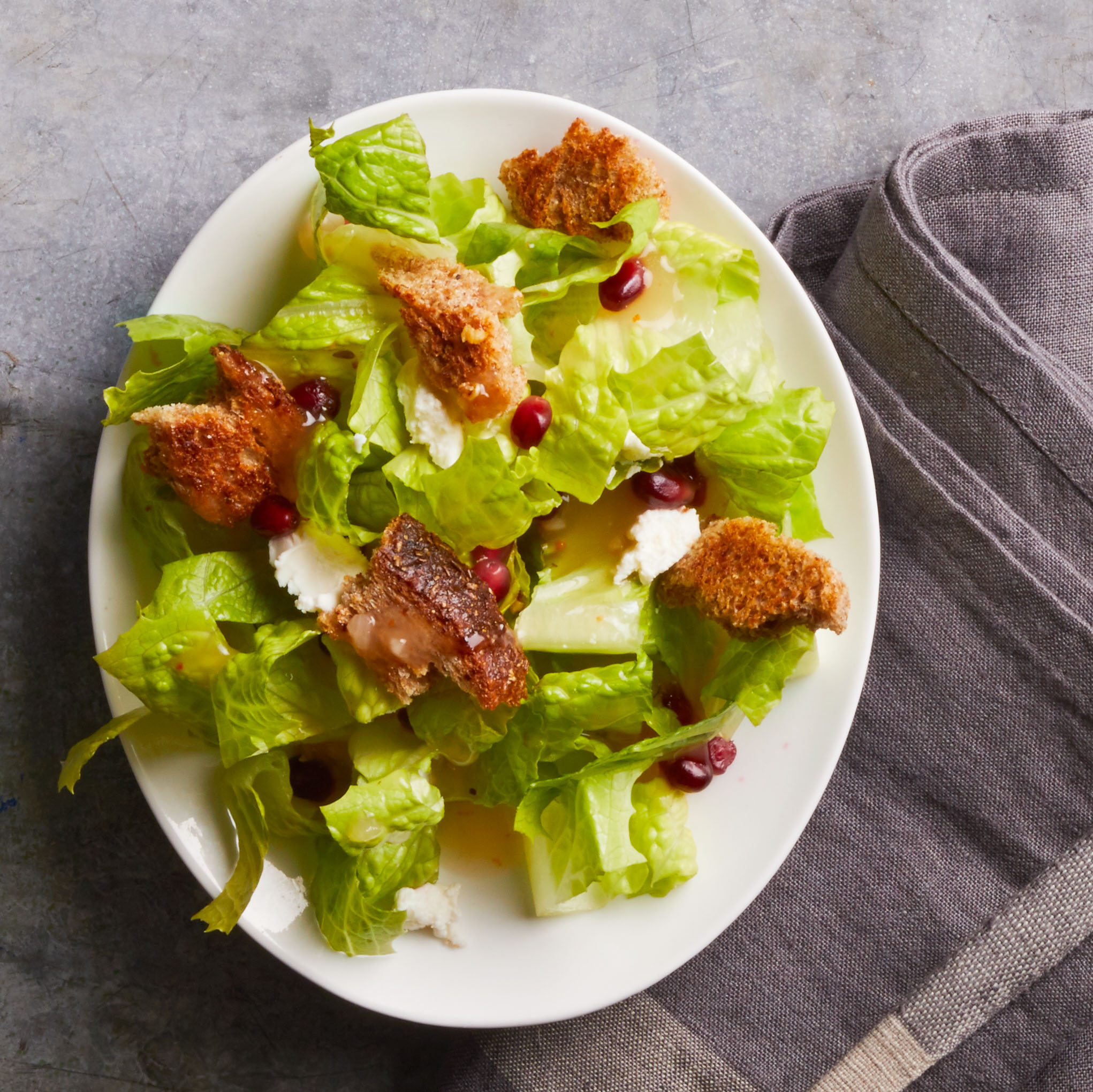 Don't throw out that stale bread! Instead make this quick, easy, and delicious Tuscan salad.
