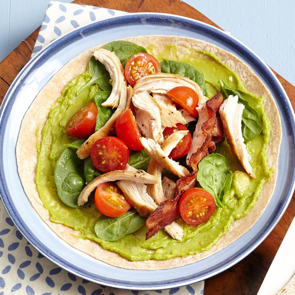 Chicken Avocado BLT Wrap Trusted Brands