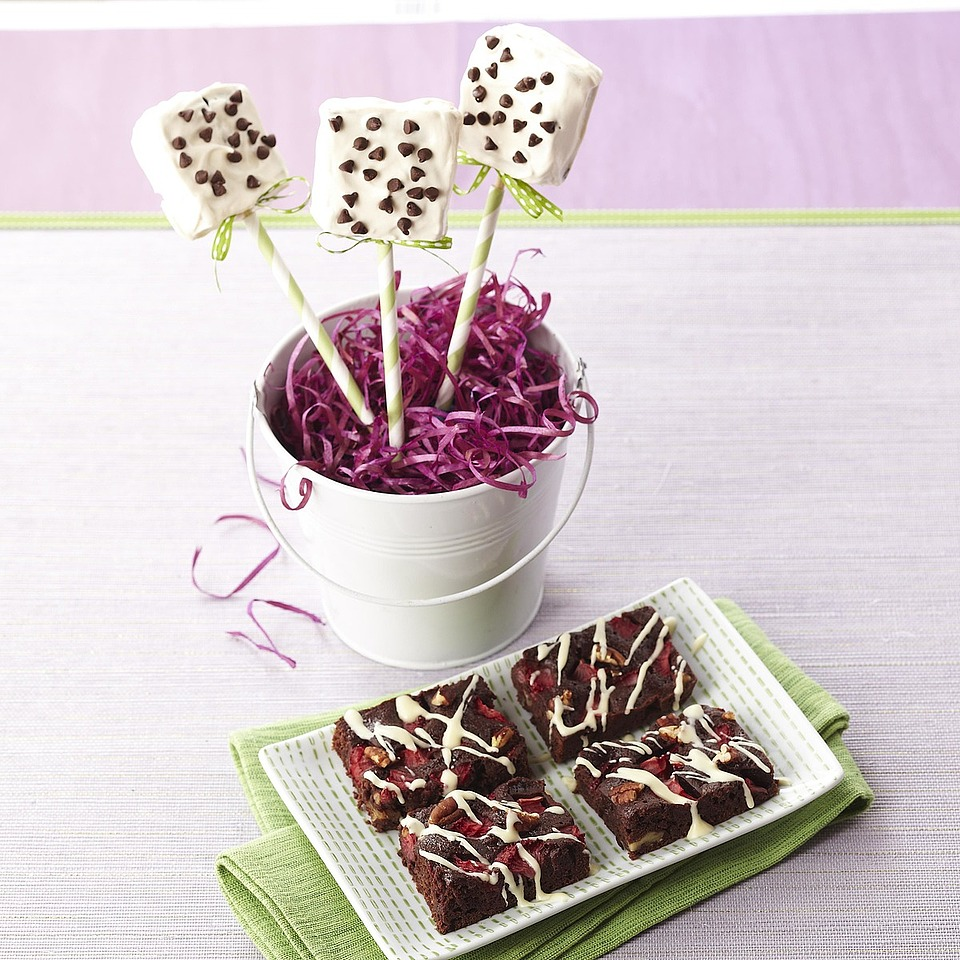Brownies on a Stick Diabetic Living Magazine