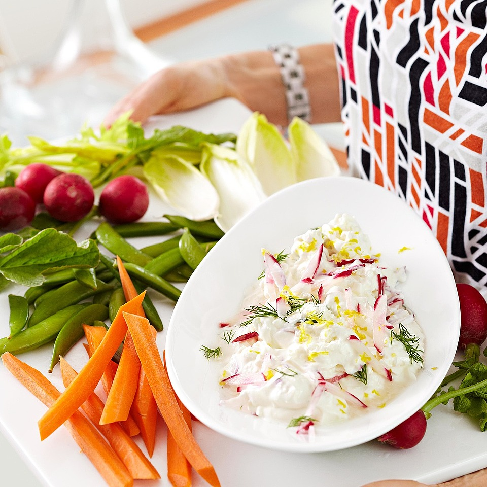 Fresh Radish Dip Diabetic Living Magazine
