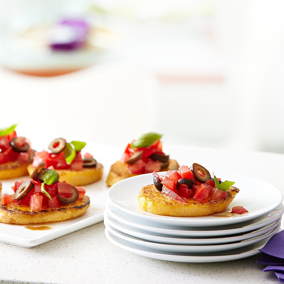 Polenta Bruschetta Diabetic Living Magazine