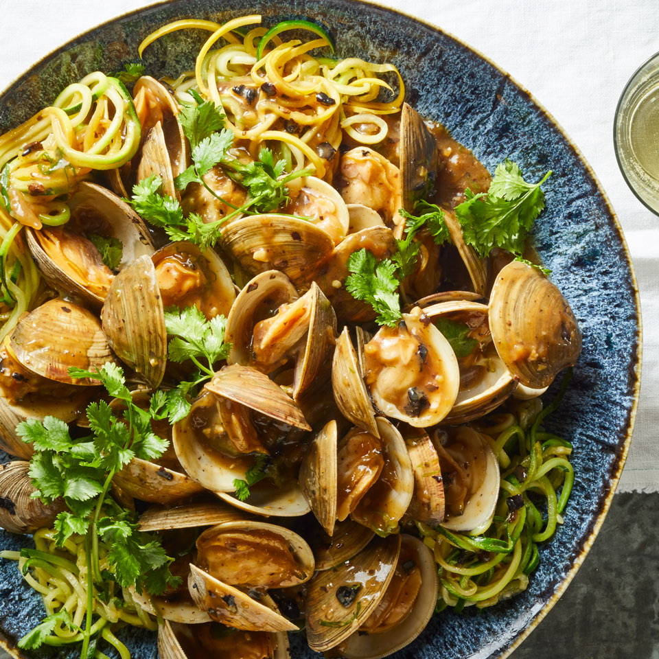 Black Bean Clams with Two Noodles Breana Killeen