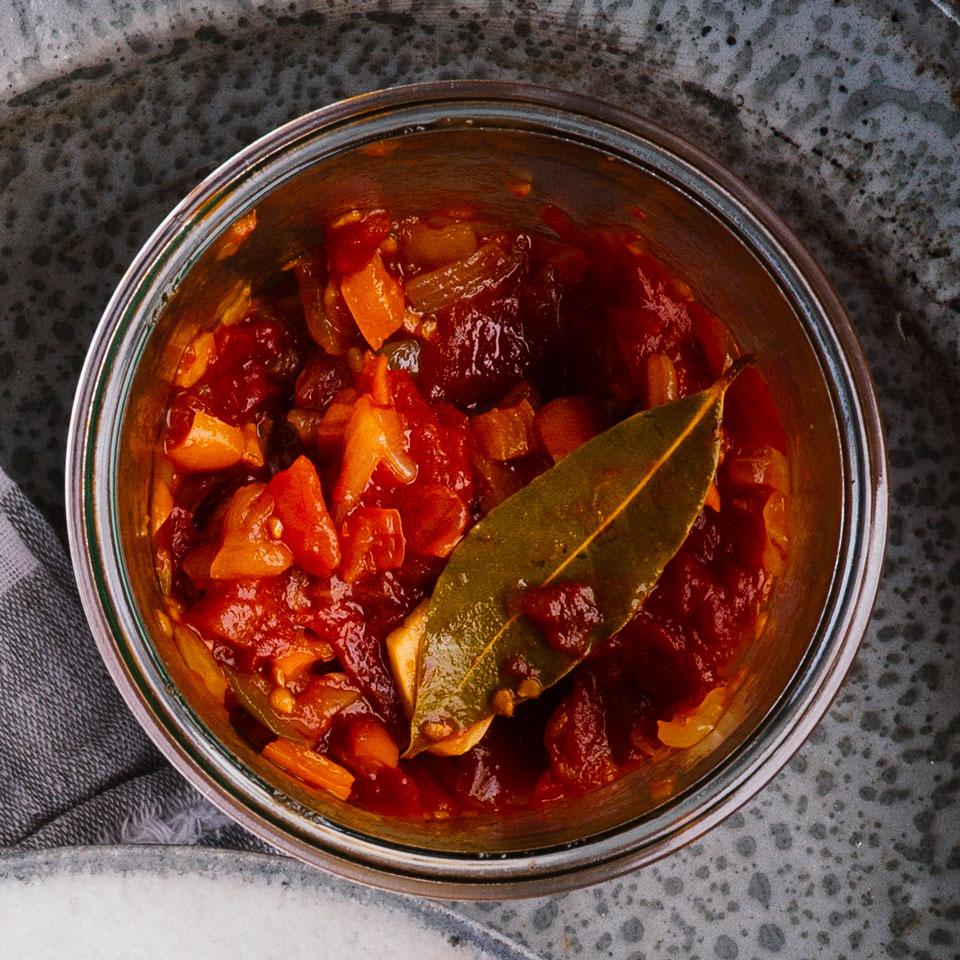 Tomato-Pepper Relish Trusted Brands