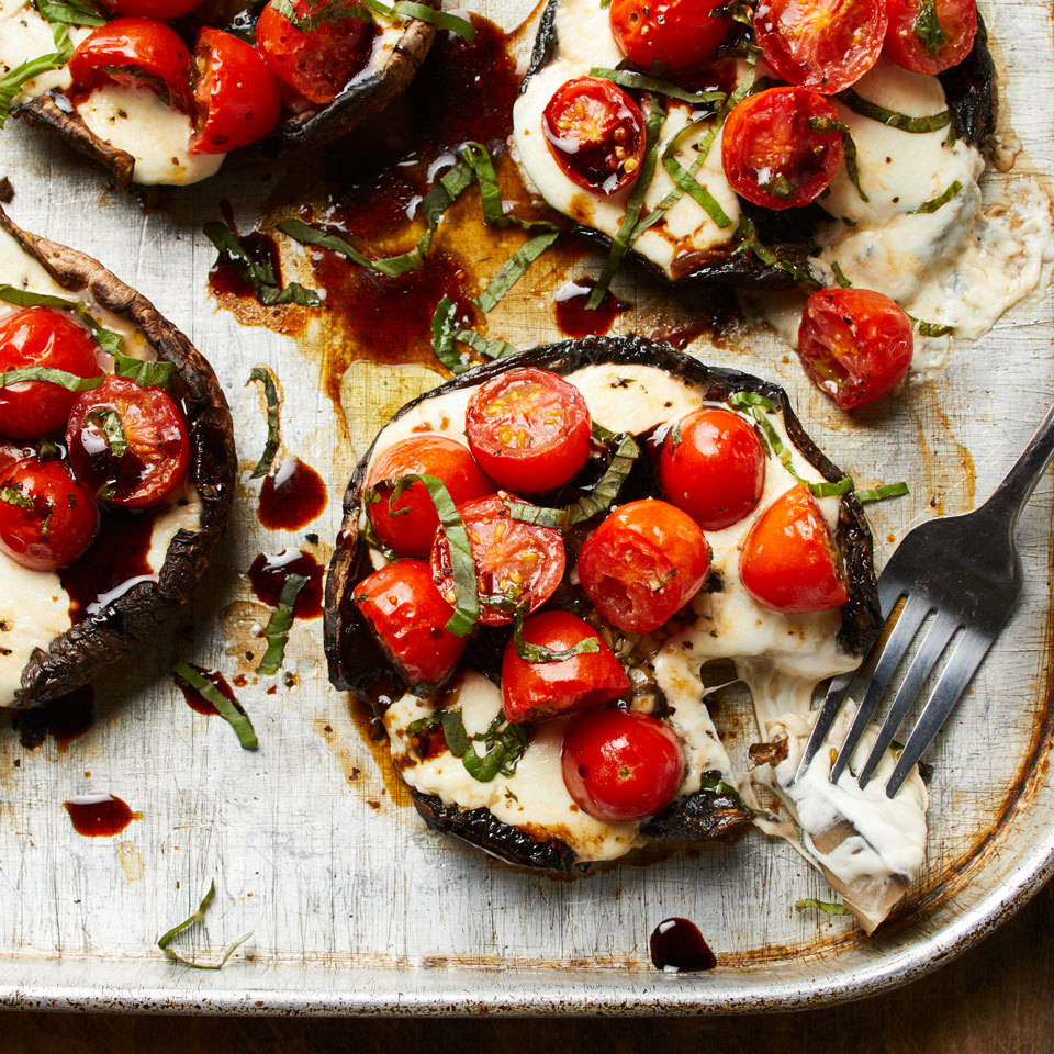 Caprese Stuffed Portobello Mushrooms Trusted Brands