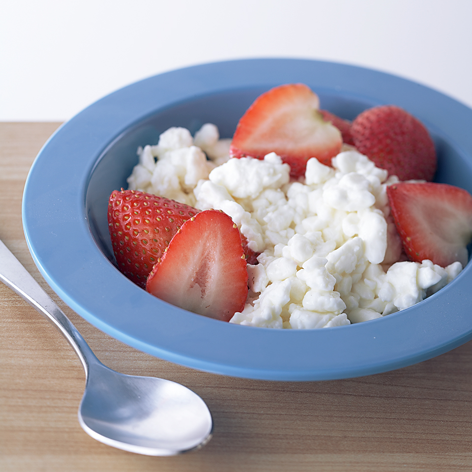 Strawberries and Cottage Cheese Trusted Brands