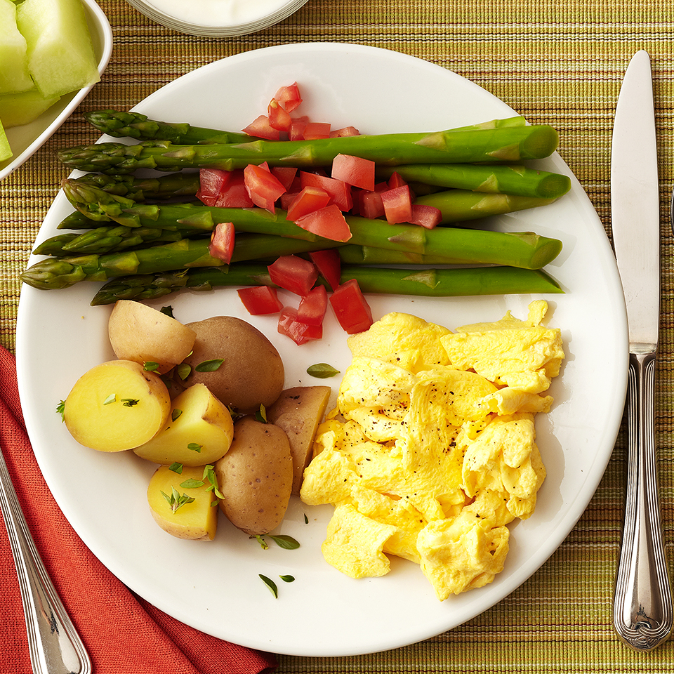 Egg and Potato Breakfast Diabetic Living Magazine