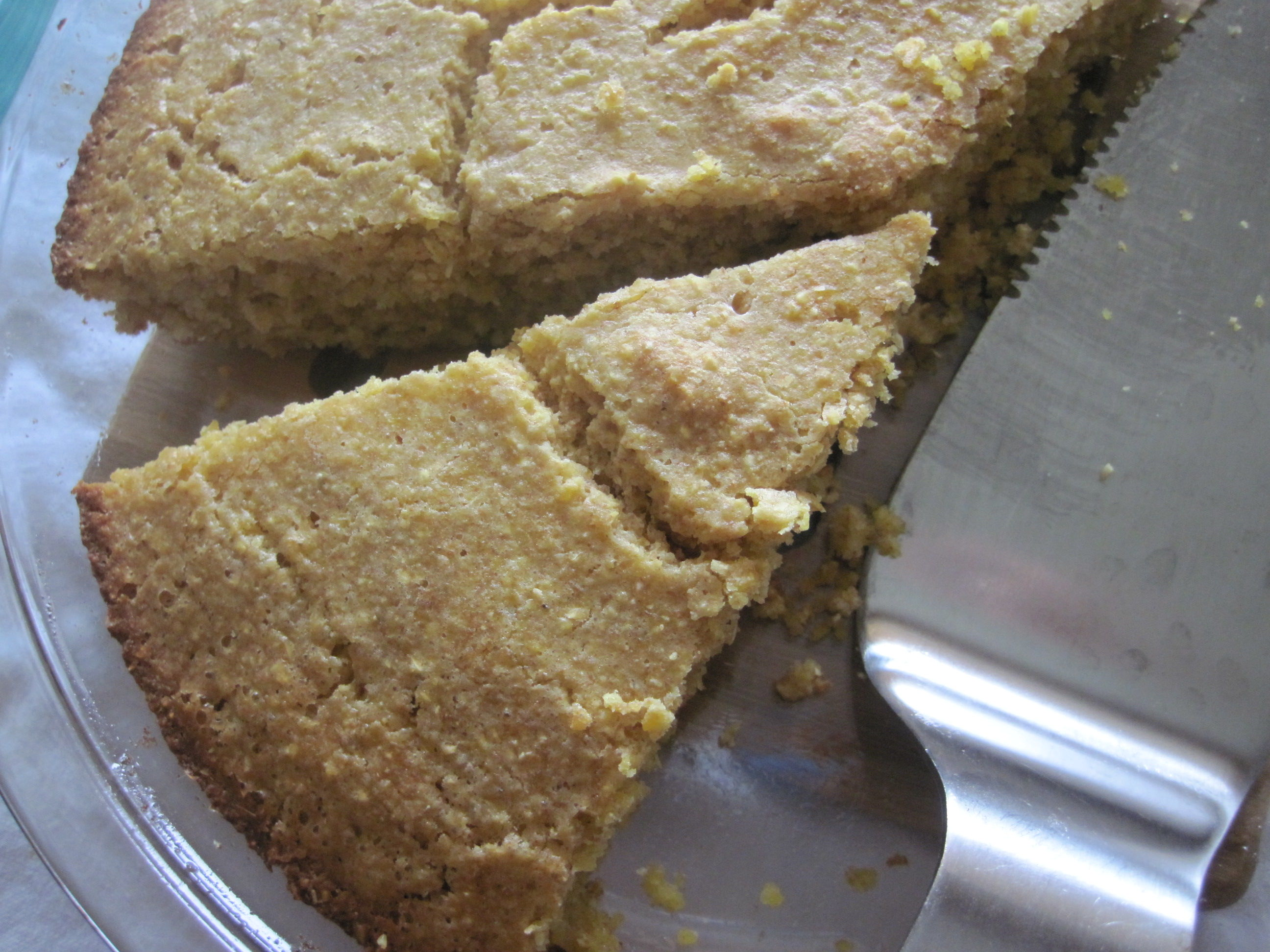 Sweet or Savory Polenta Cake AllrecipesPhoto