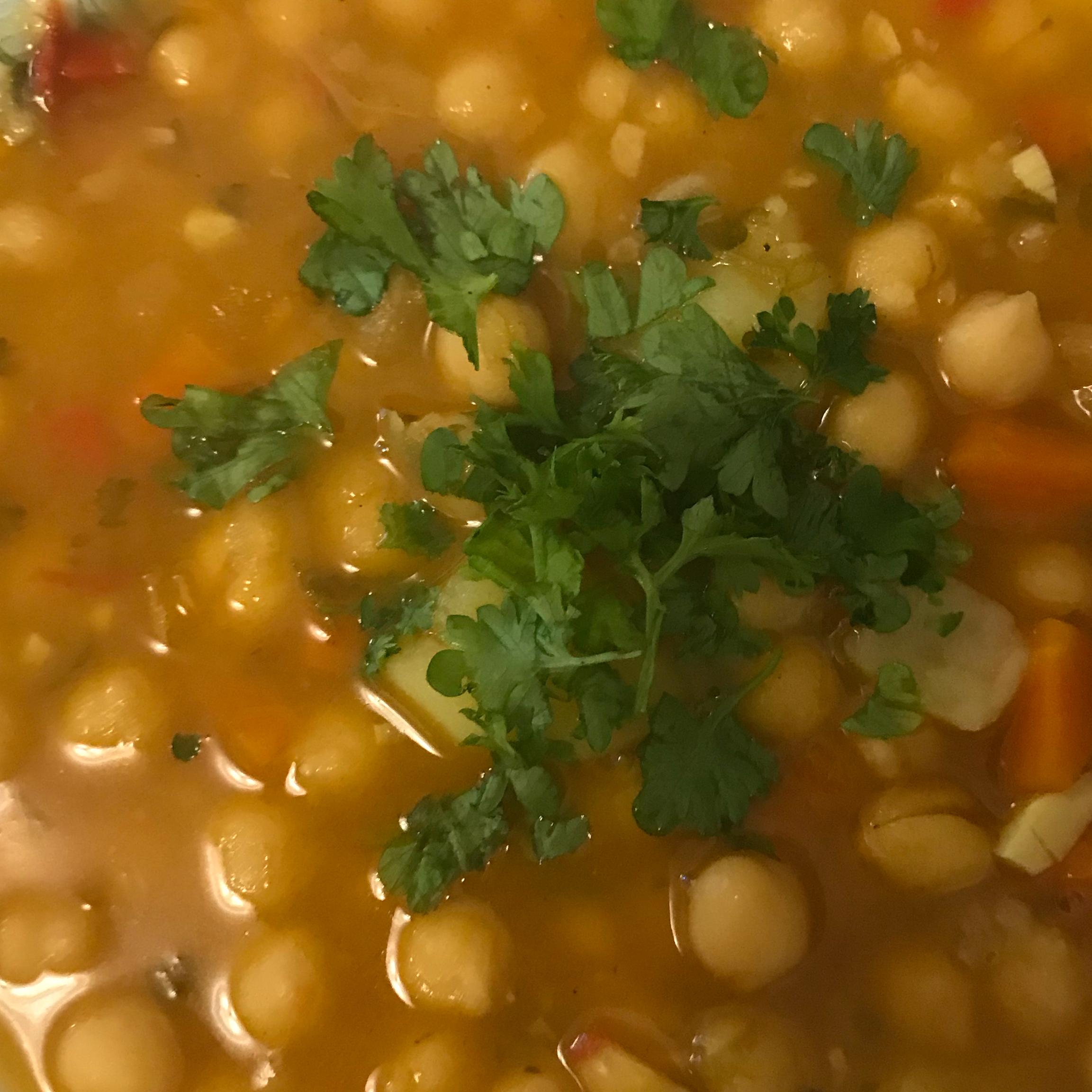 Chana Masala (Chickpeas and Tomatoes) Monica E. Guzman