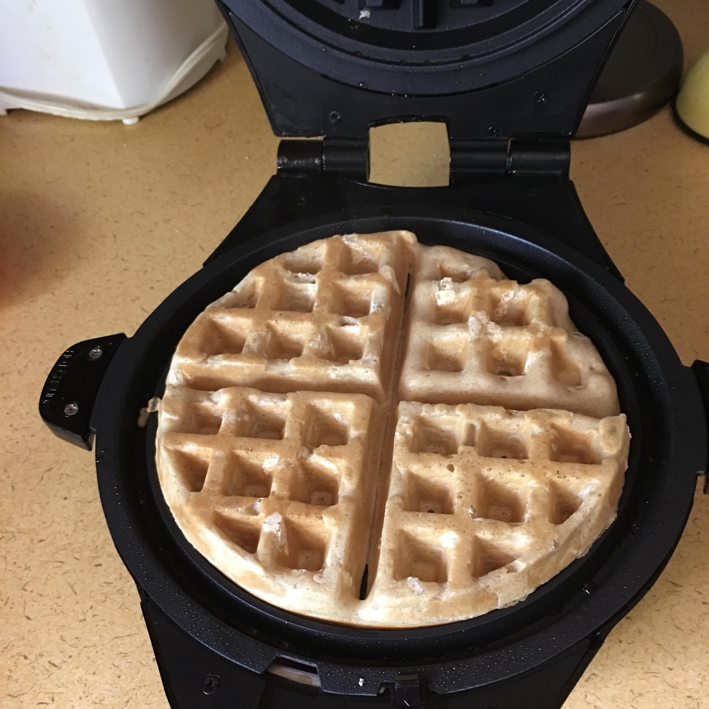 Cinnamon Belgian Waffles Michelle Sheehan