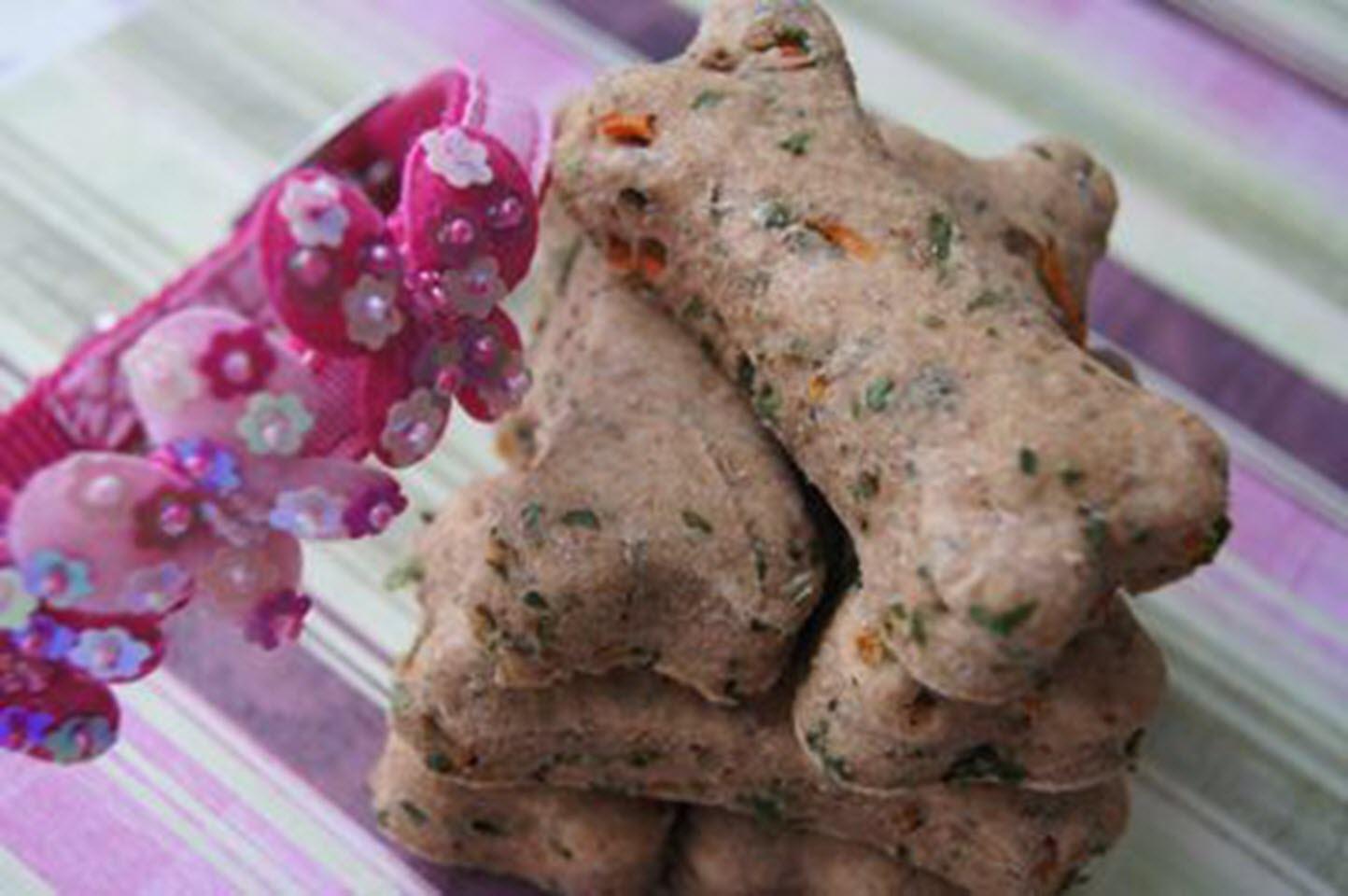 Homemade Healthy Dog Treats with Carrot and Parsley AllrecipesPhoto