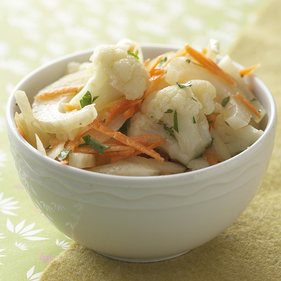 Cauliflower and Fennel Salad Diabetic Living Magazine