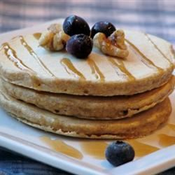 Whole Grain Pancakes mominml