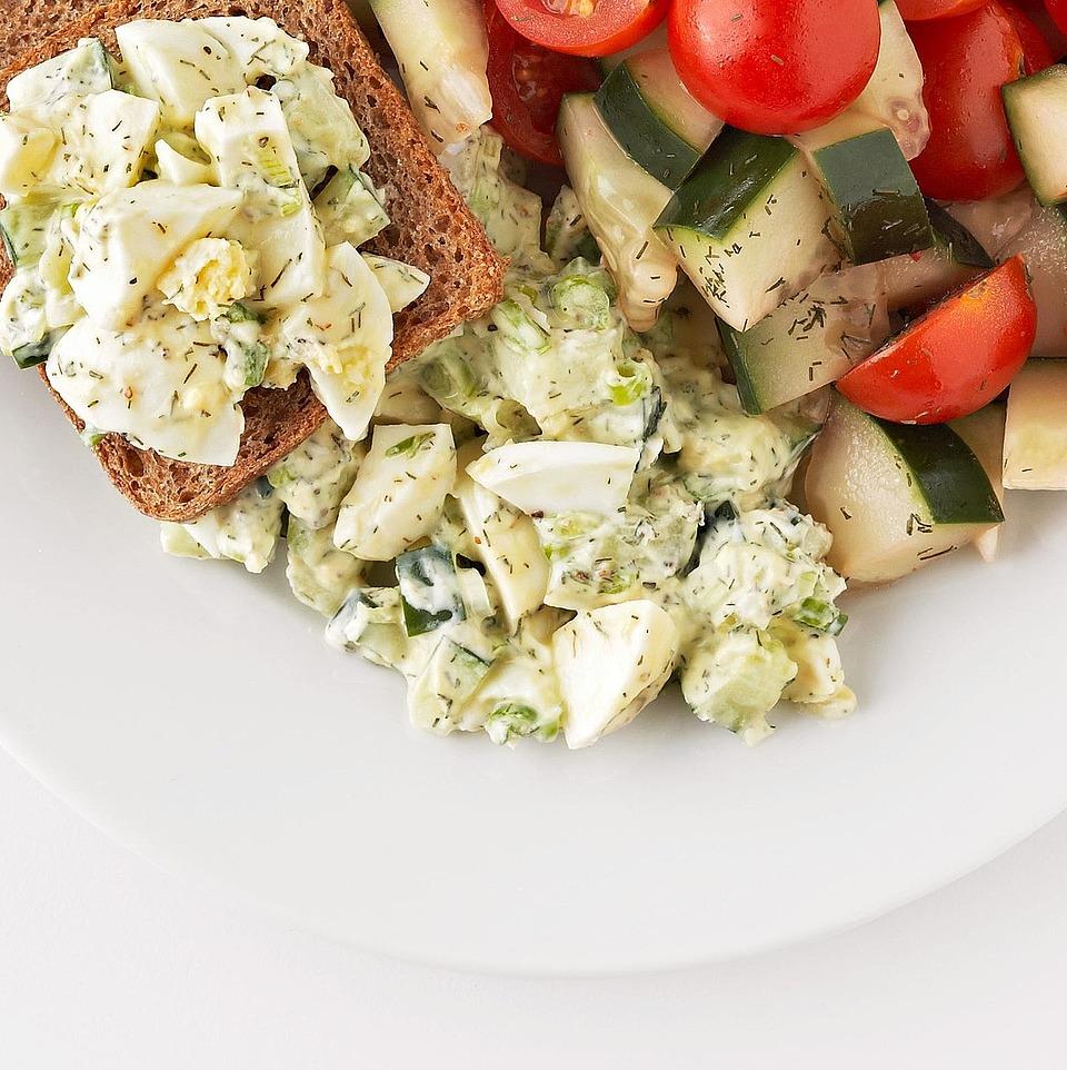 Fresh Egg Salad Diabetic Living Magazine