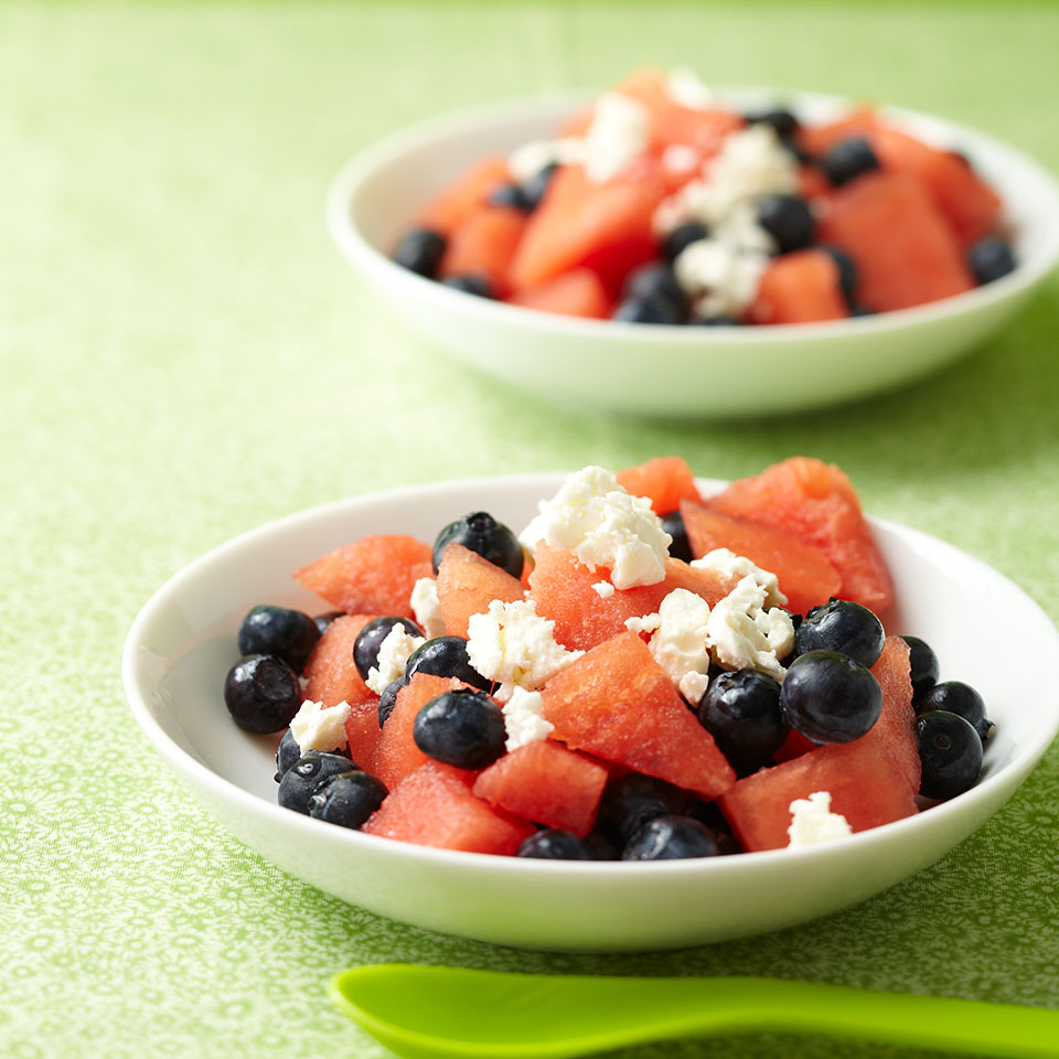 Fruit and Feta Diabetic Living Magazine