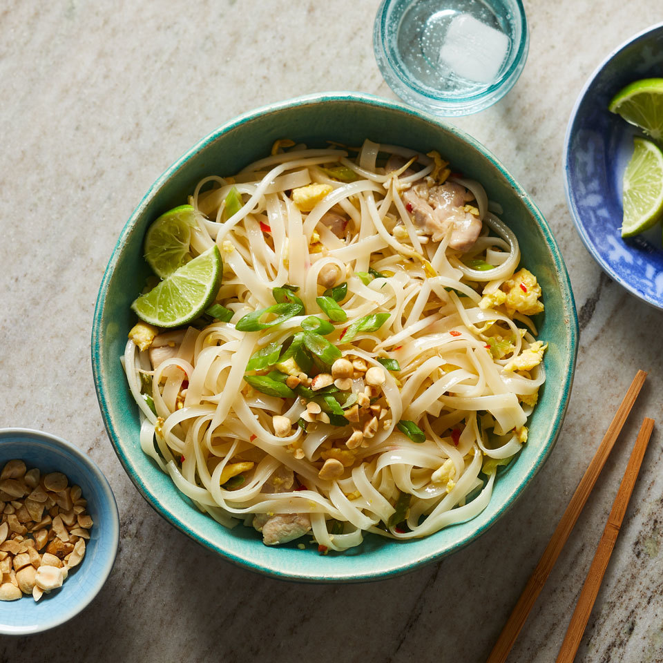 Chicken Pad Thai Carolyn Casner