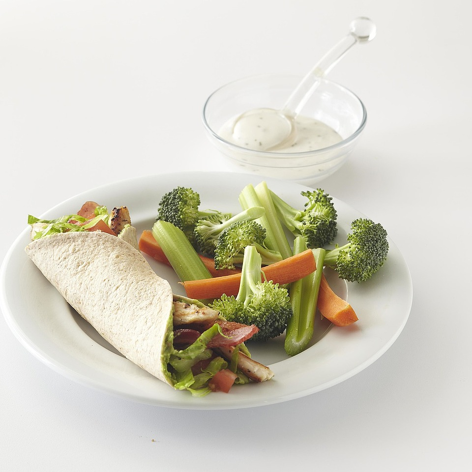 Chicken BLT Wrap Diabetic Living Magazine