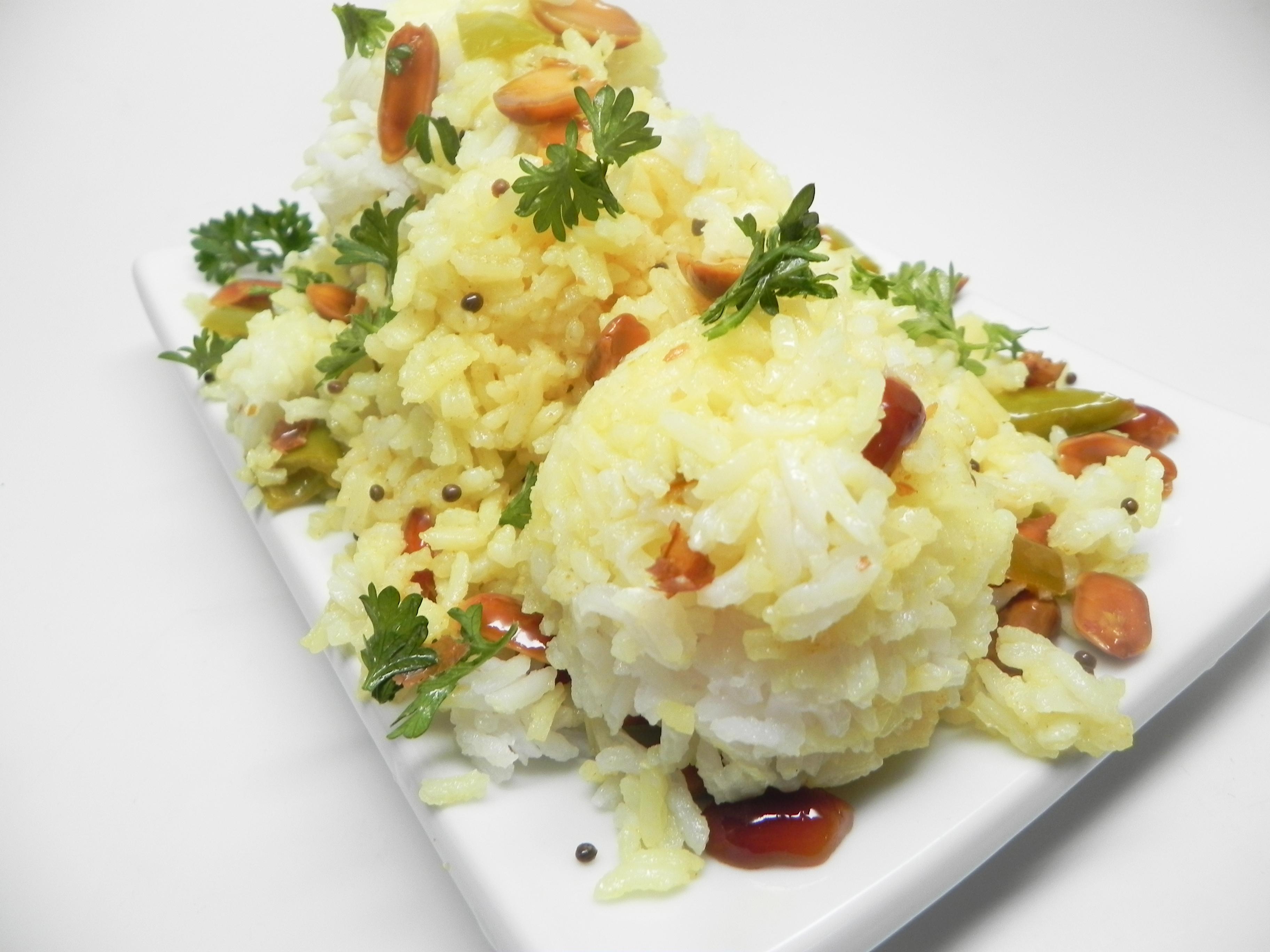 South Indian-Style Lemon Rice