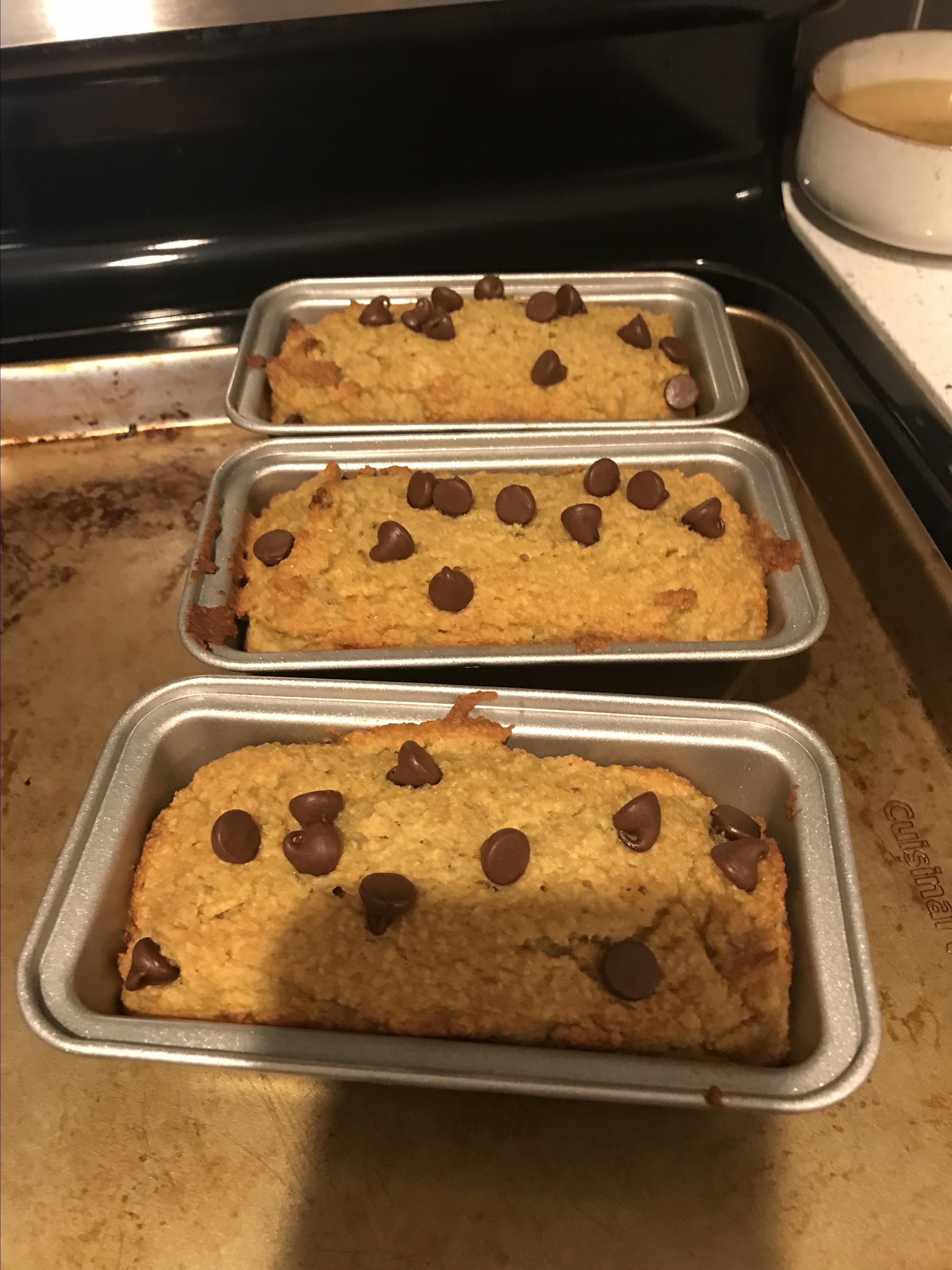 Almond Flour Banana Bread Aileen Reyes