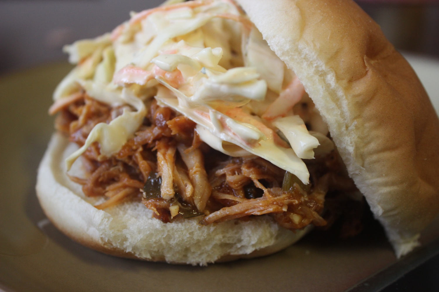 Awesome Pulled Pork BBQ mommyluvs2cook
