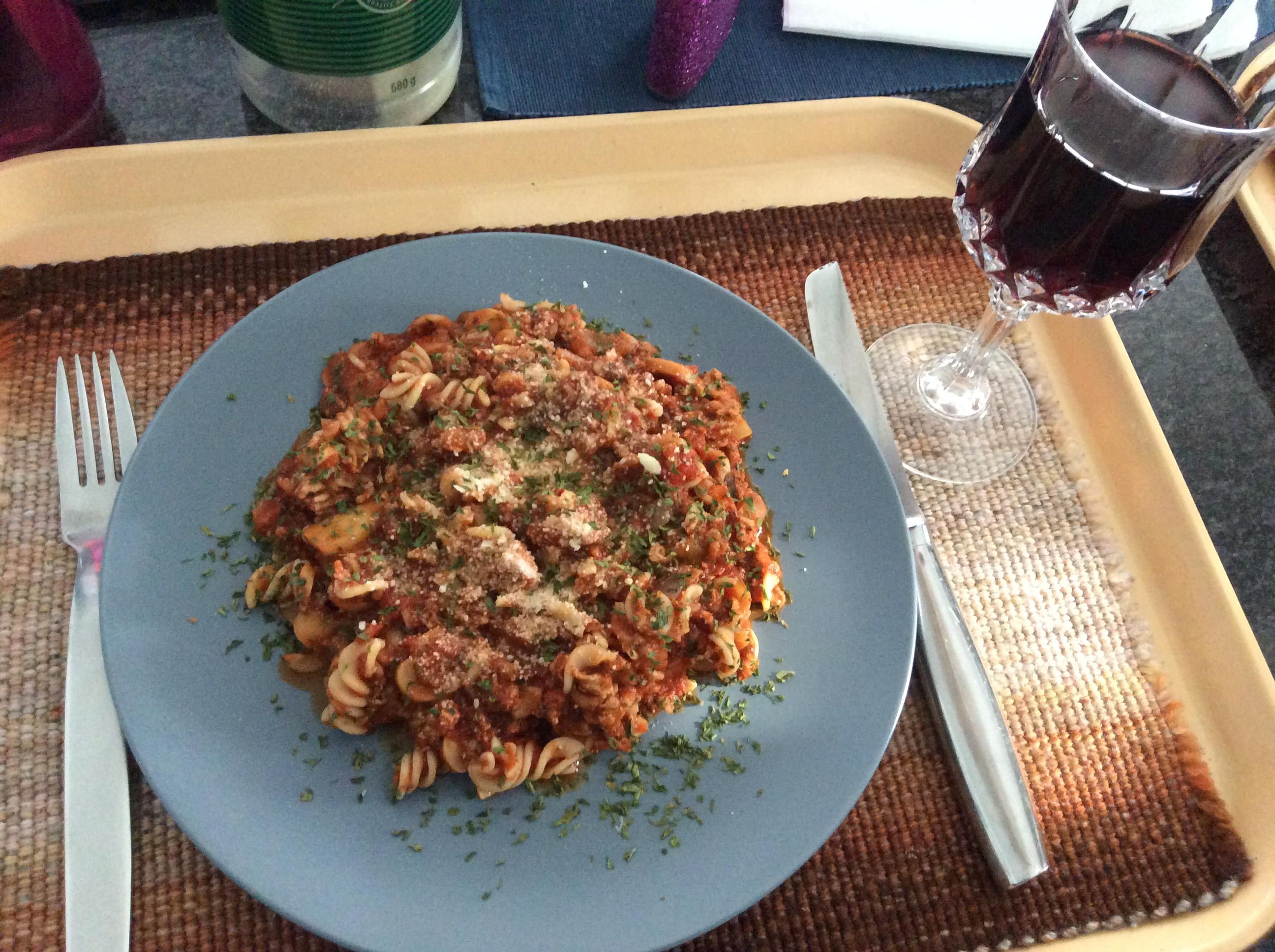 Low-Fat Ground Turkey Pasta