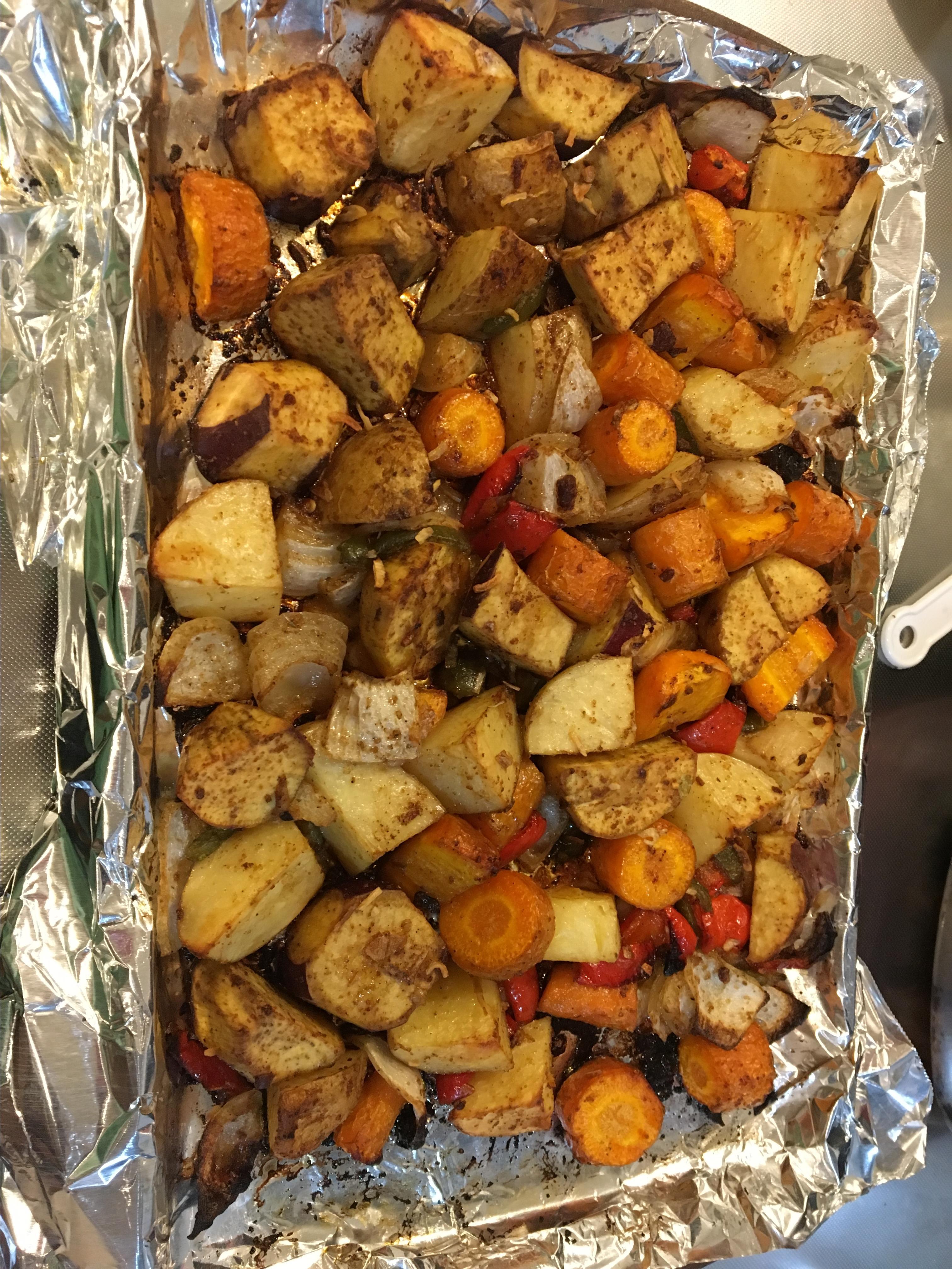 Oven Roasted Vegetables Alocin