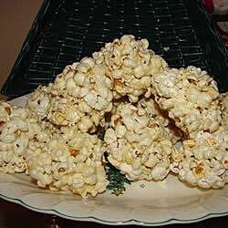 old time popcorn balls recipe