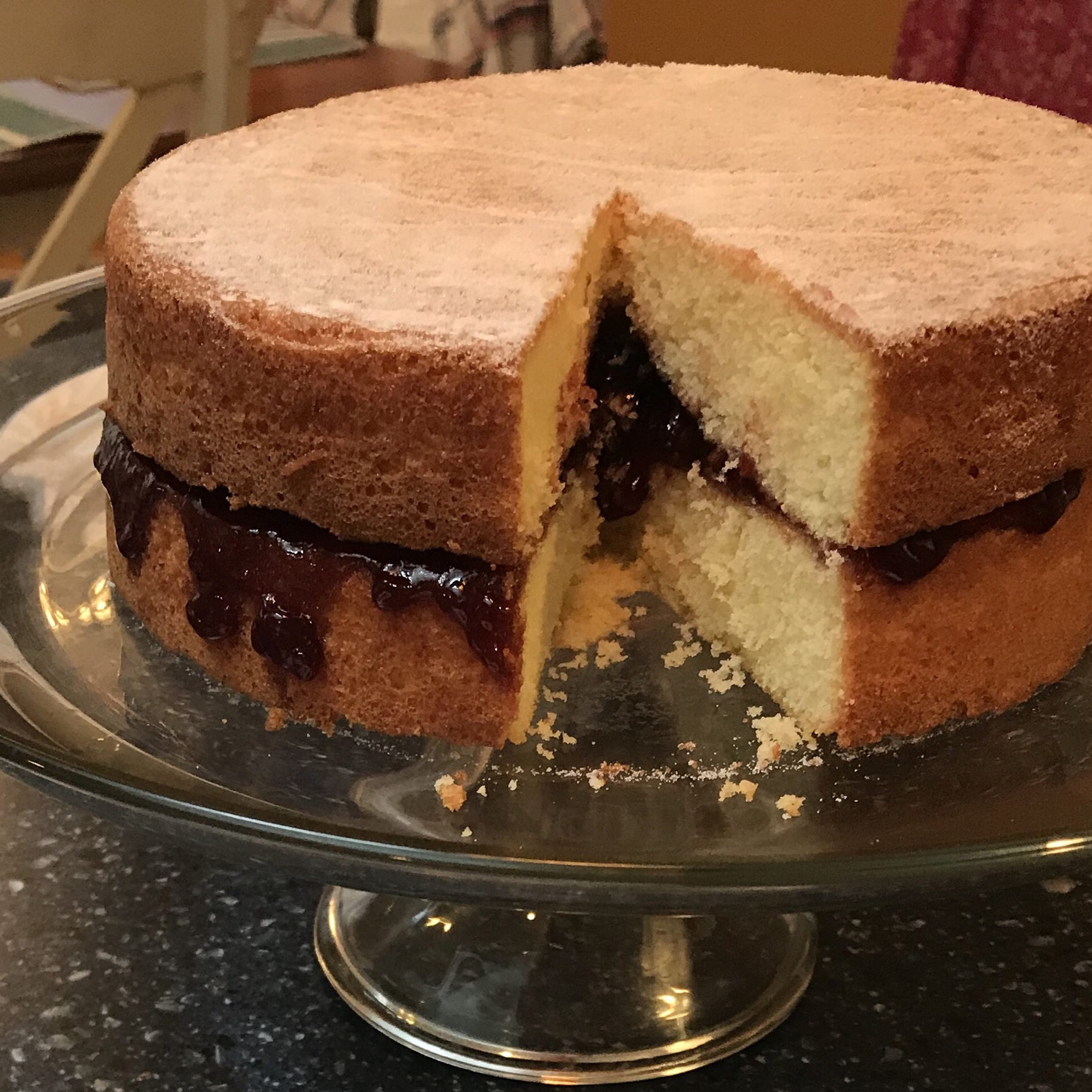 Classic Victoria Sponge Cake Recipe - Allrecipes.com ...