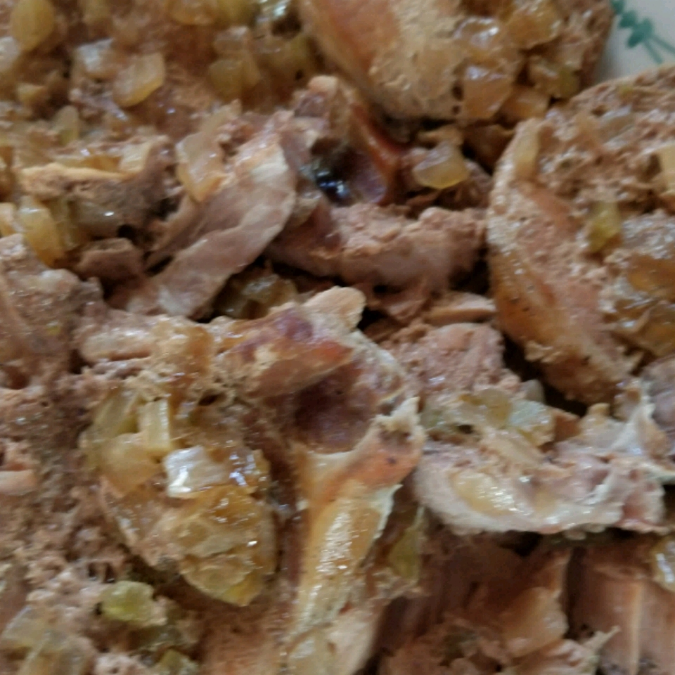 Slow Cooker Pork with Mushrooms and Barley Ryan