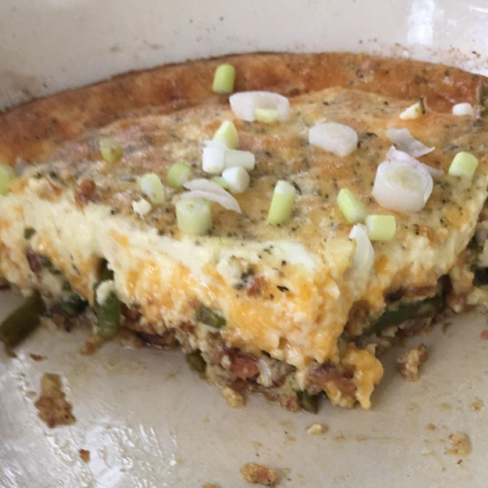 Asparagus Mushroom Bacon Crustless Quiche Warwick Varney