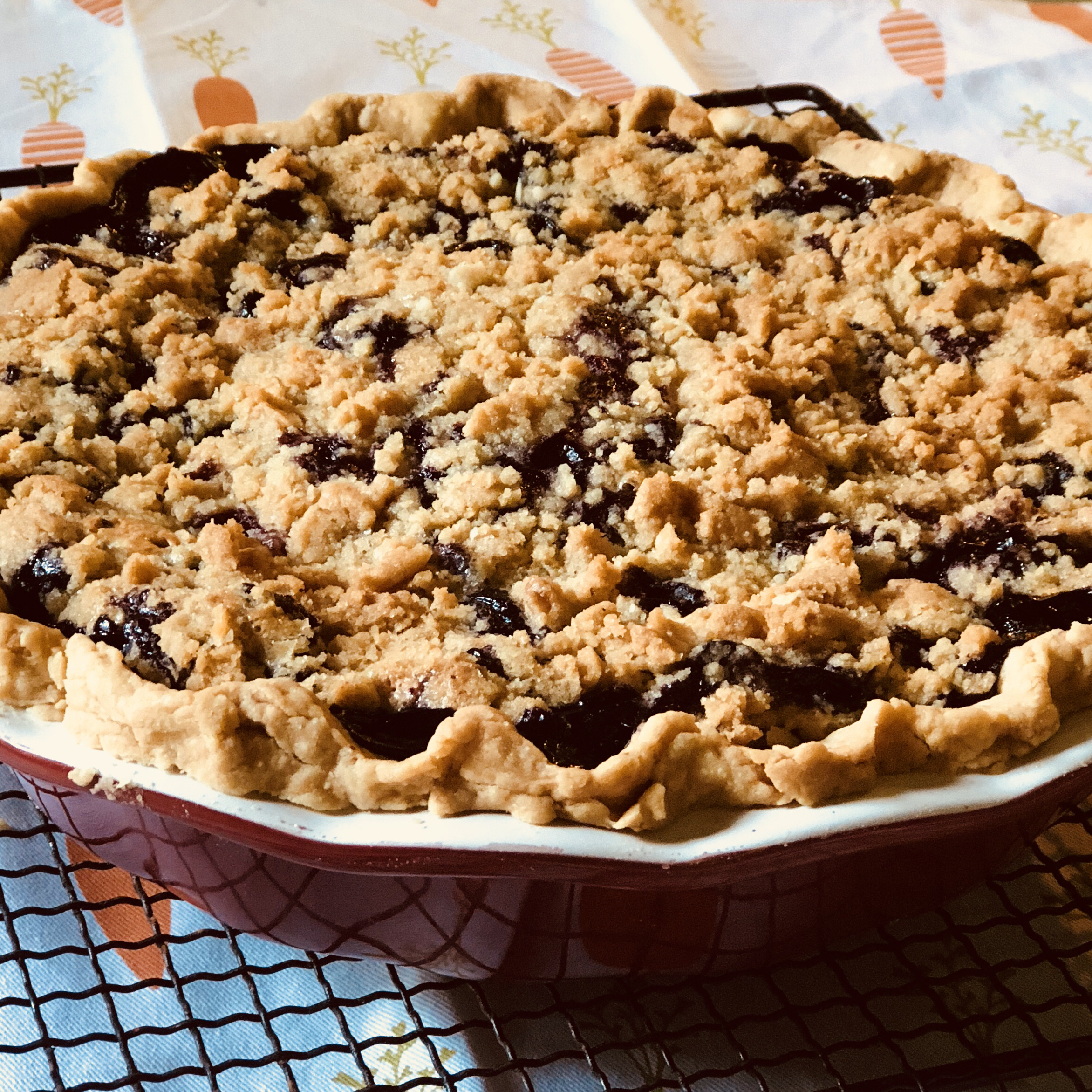 Creamy Blueberry Pie Susan Meyer