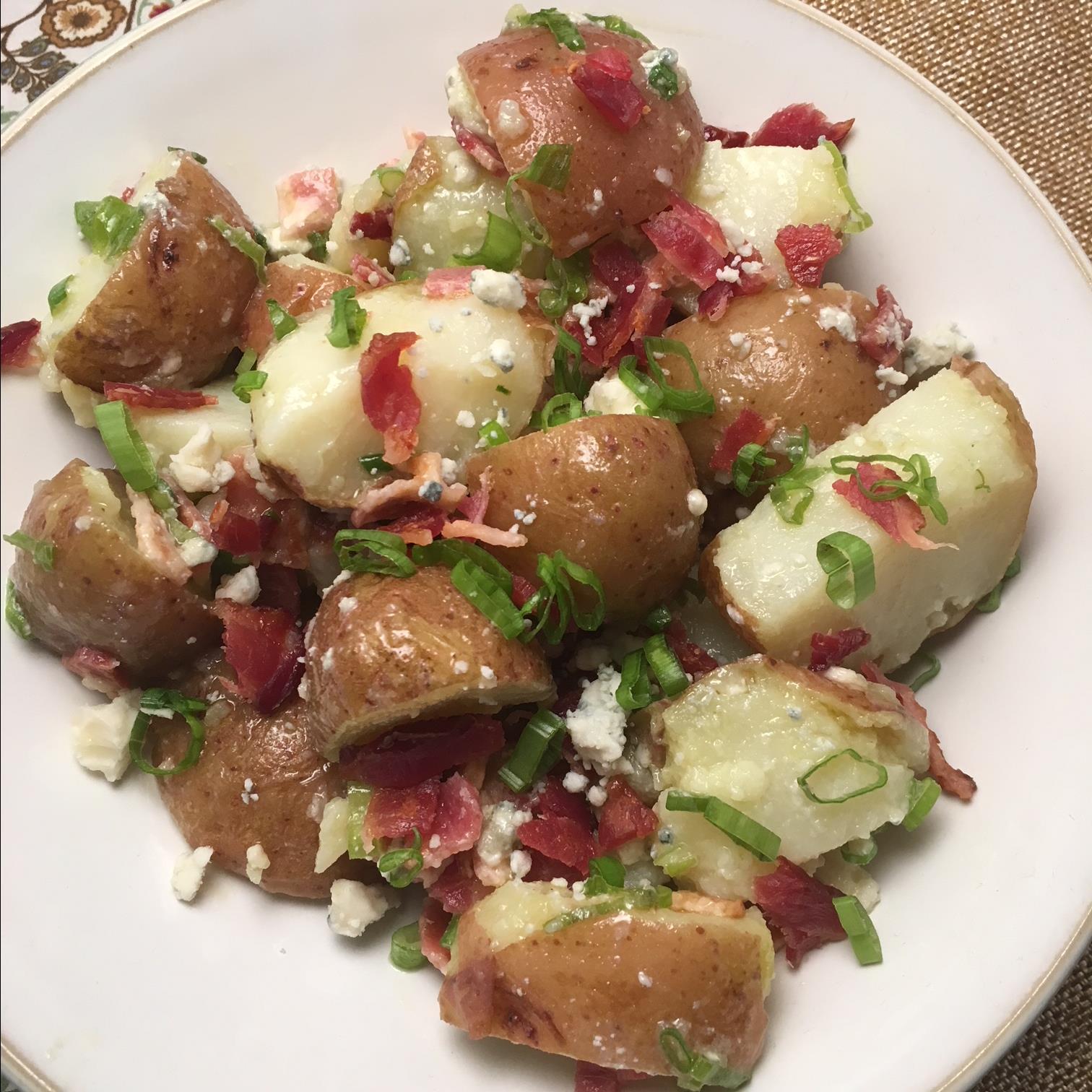 Blue Cheese Potato Salad Howard