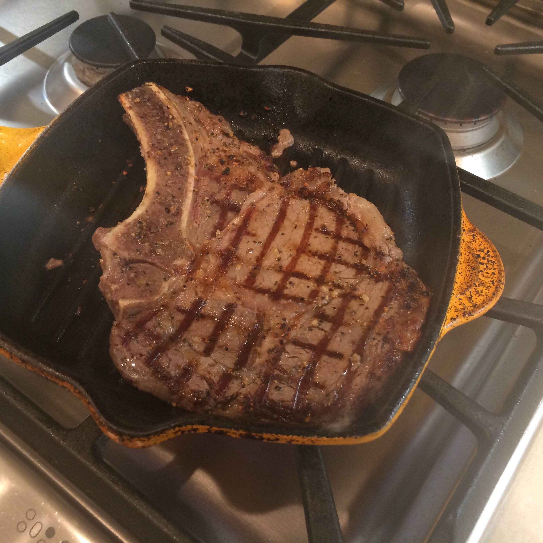 Barbequed Steak