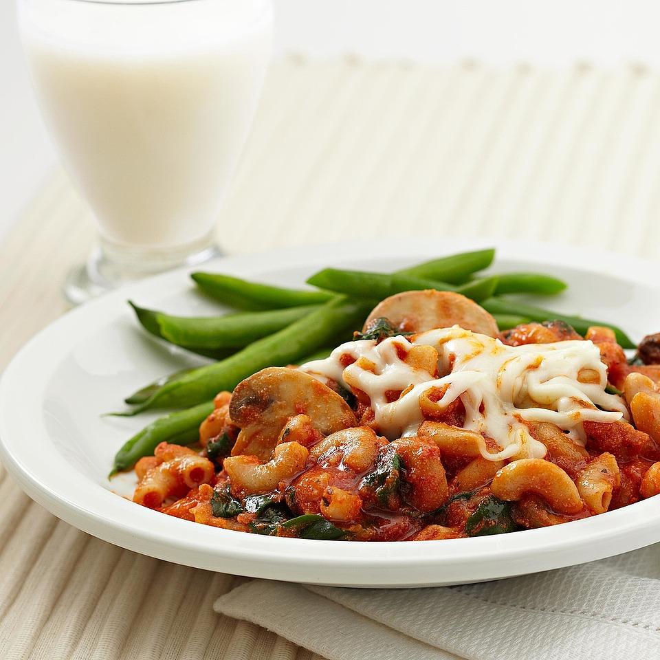 Three-Cheese Vegetable Pasta Toss Diabetic Living Magazine