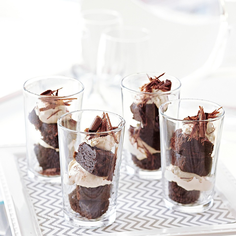 Tiramisu Brownie Parfaits Diabetic Living Magazine