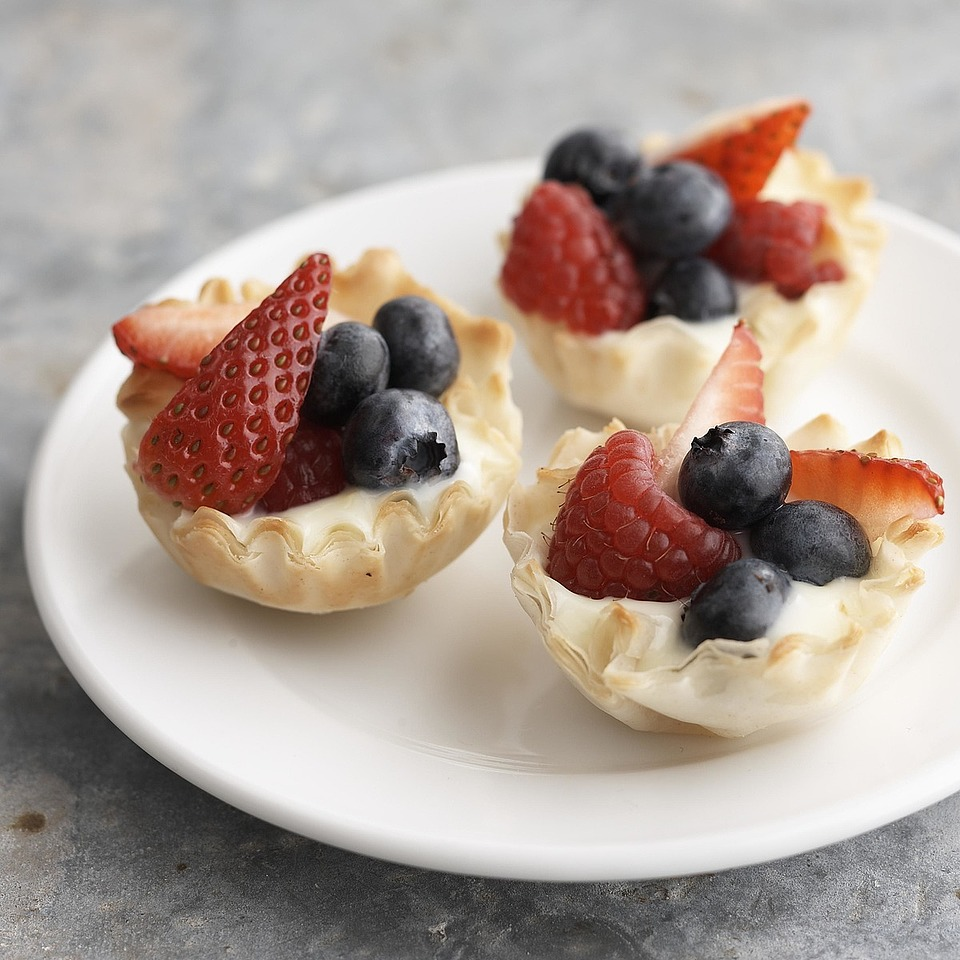 Berry Phyllo Tarts Diabetic Living Magazine
