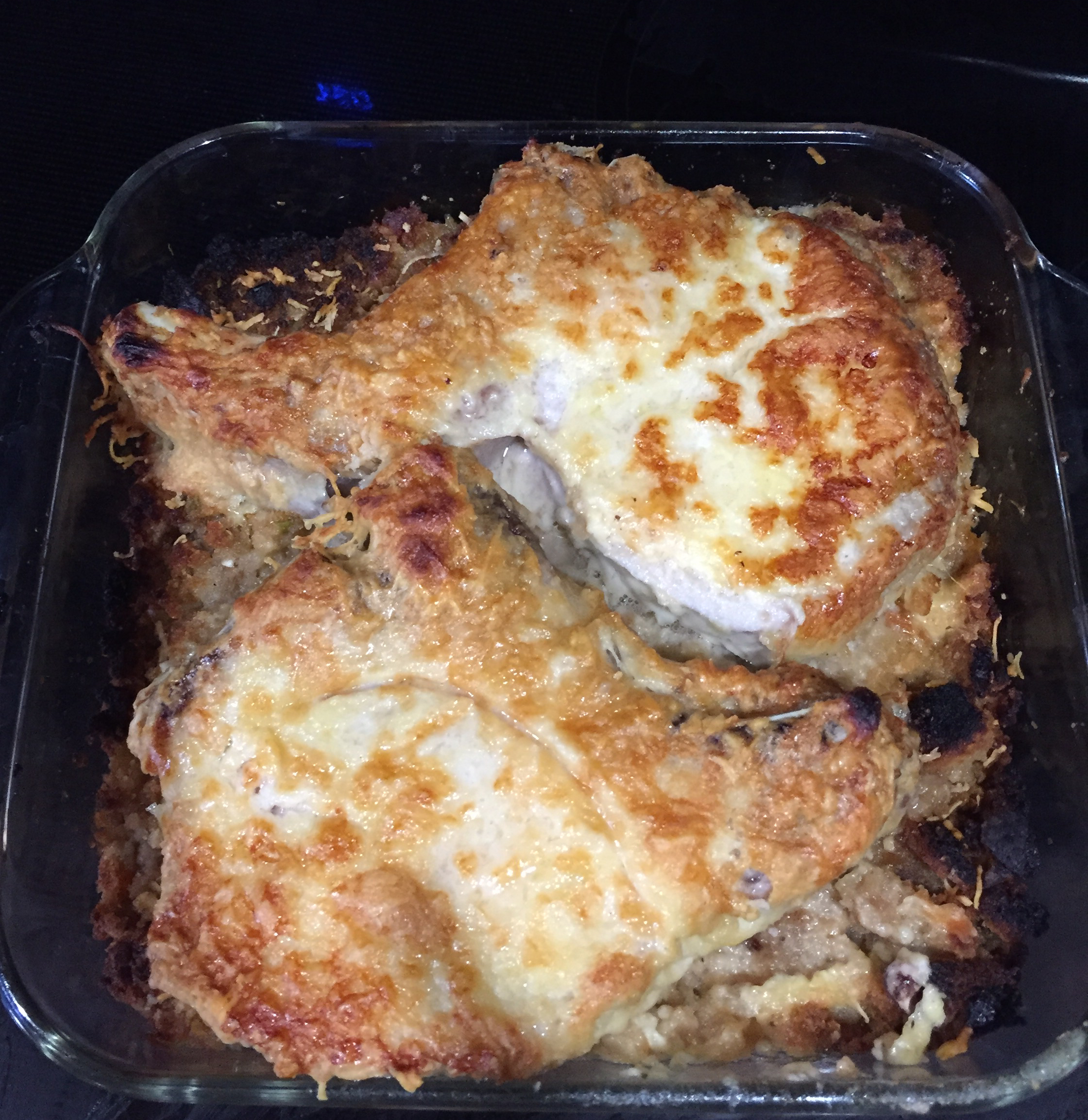 Oven-Baked Stuffed Pork Chops Recipe | Allrecipes