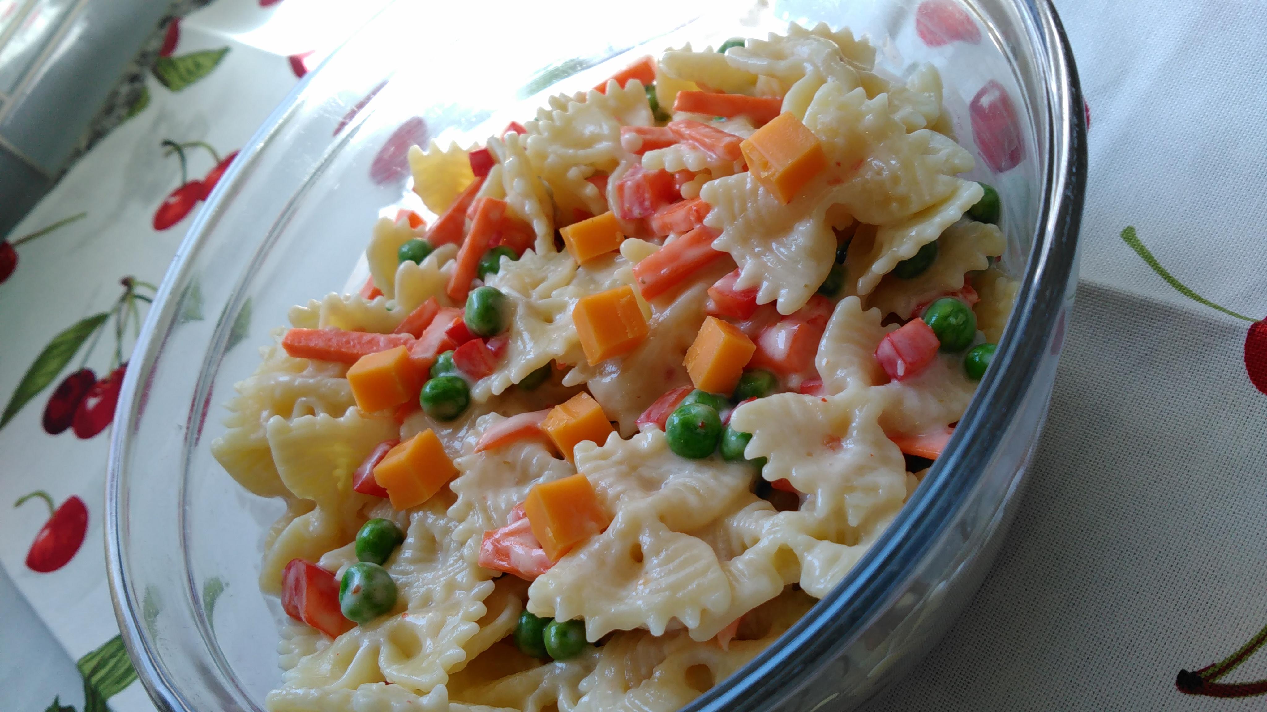 Pasta Side Salad Made Over Bren