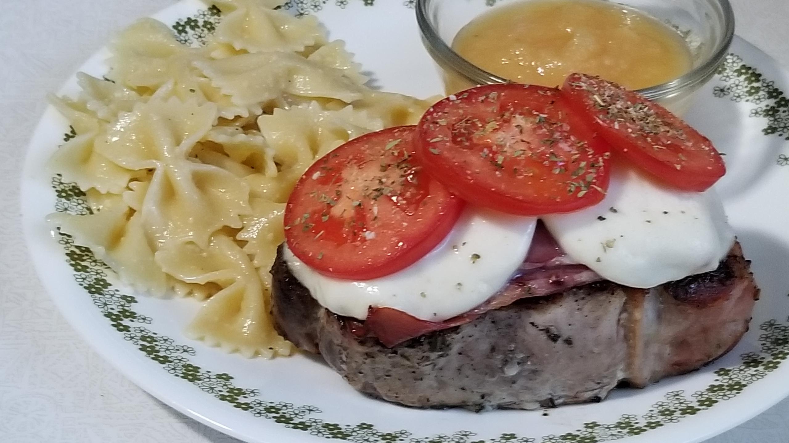 Grilled Italian Pork Chops