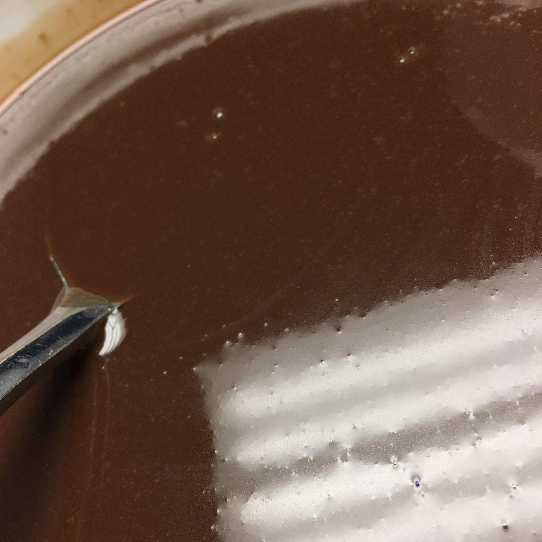 Homemade Dark Chocolate Glaze caitlynn