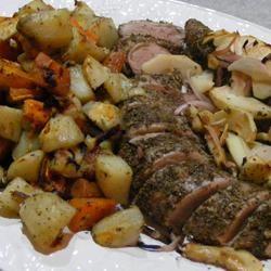 Apple Rosemary Pork Tenderloin Cheryl
