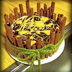 Chocolate Cavity Maker Cake tapproot