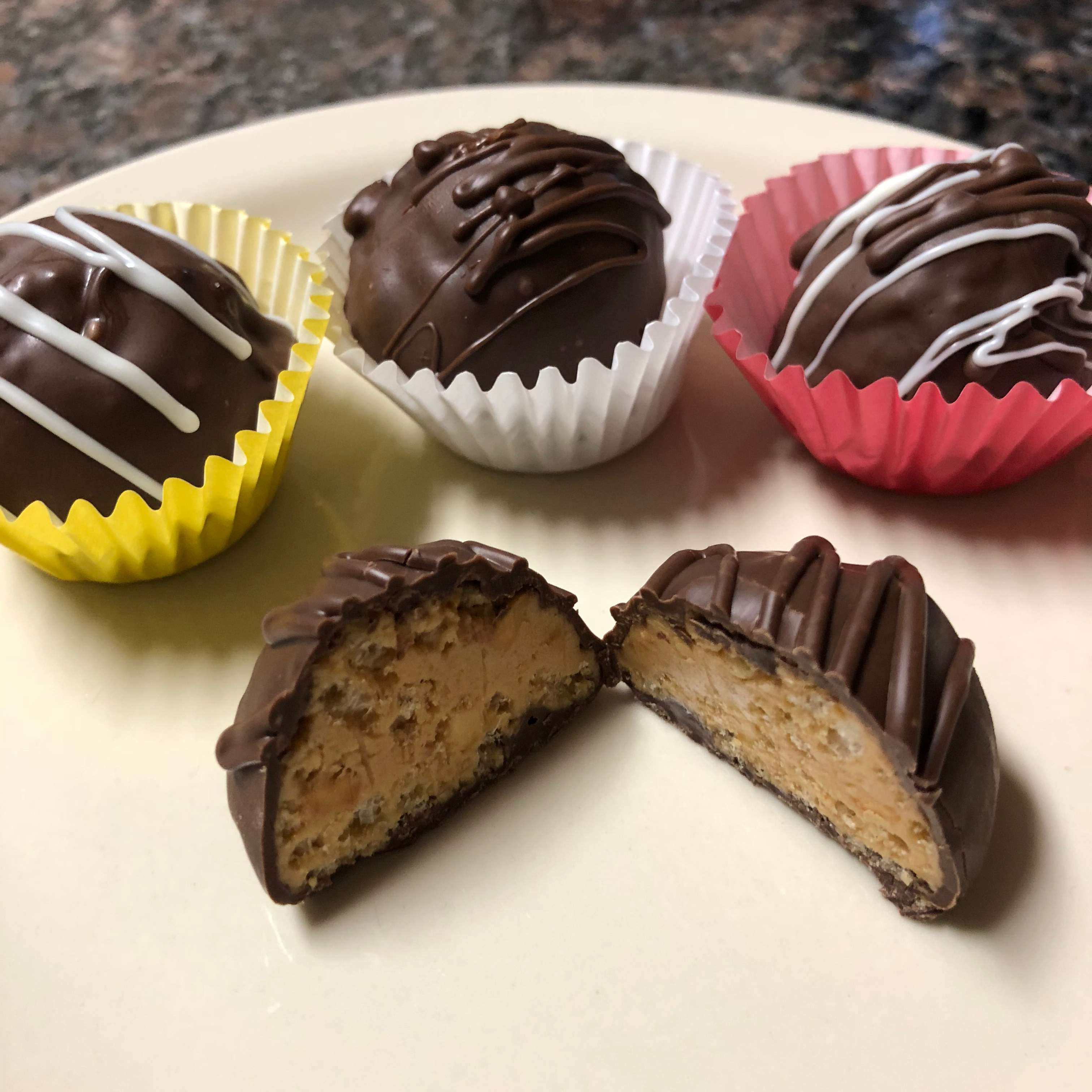 RICE KRISPIES® Chocolate Peanut Butter Balls Lorley