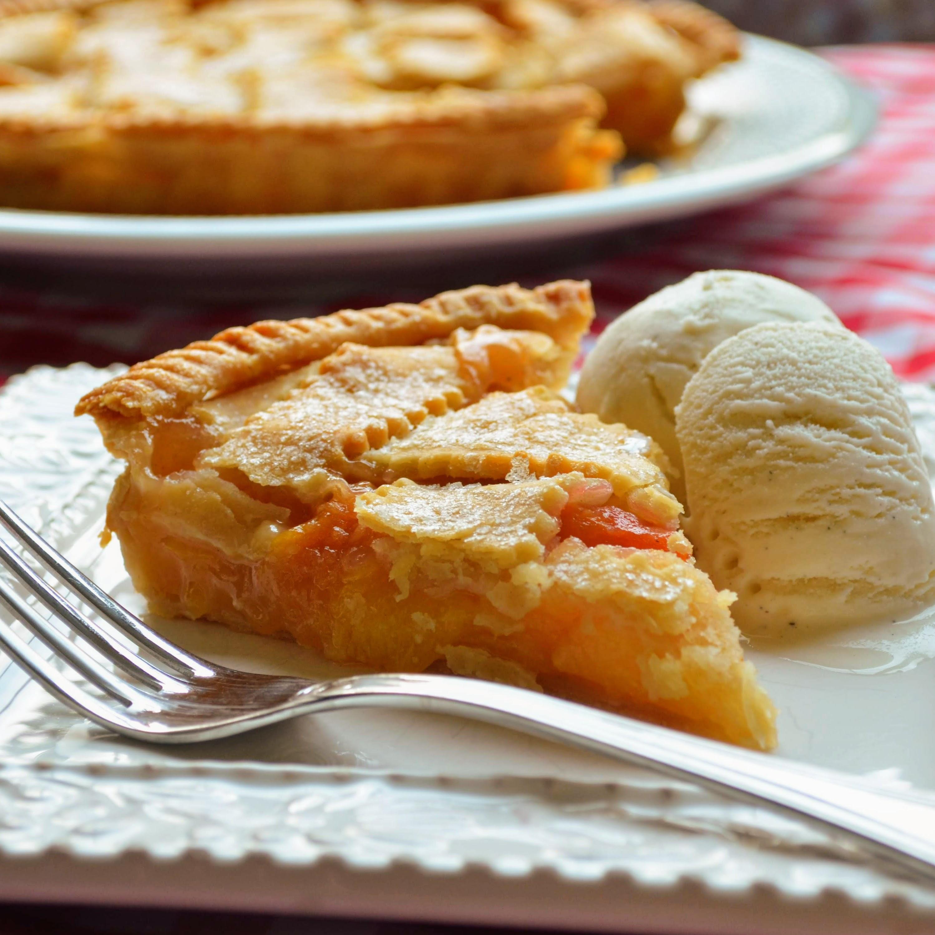 Chef John's Peach Pie