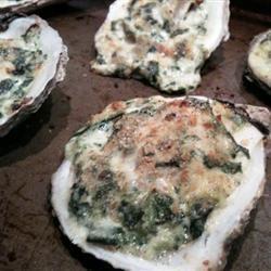 Rockin' Oysters Rockefeller